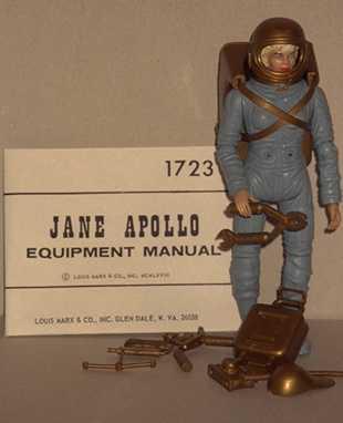 apollo astronauts 1960 s marx plastic figures - photo #14